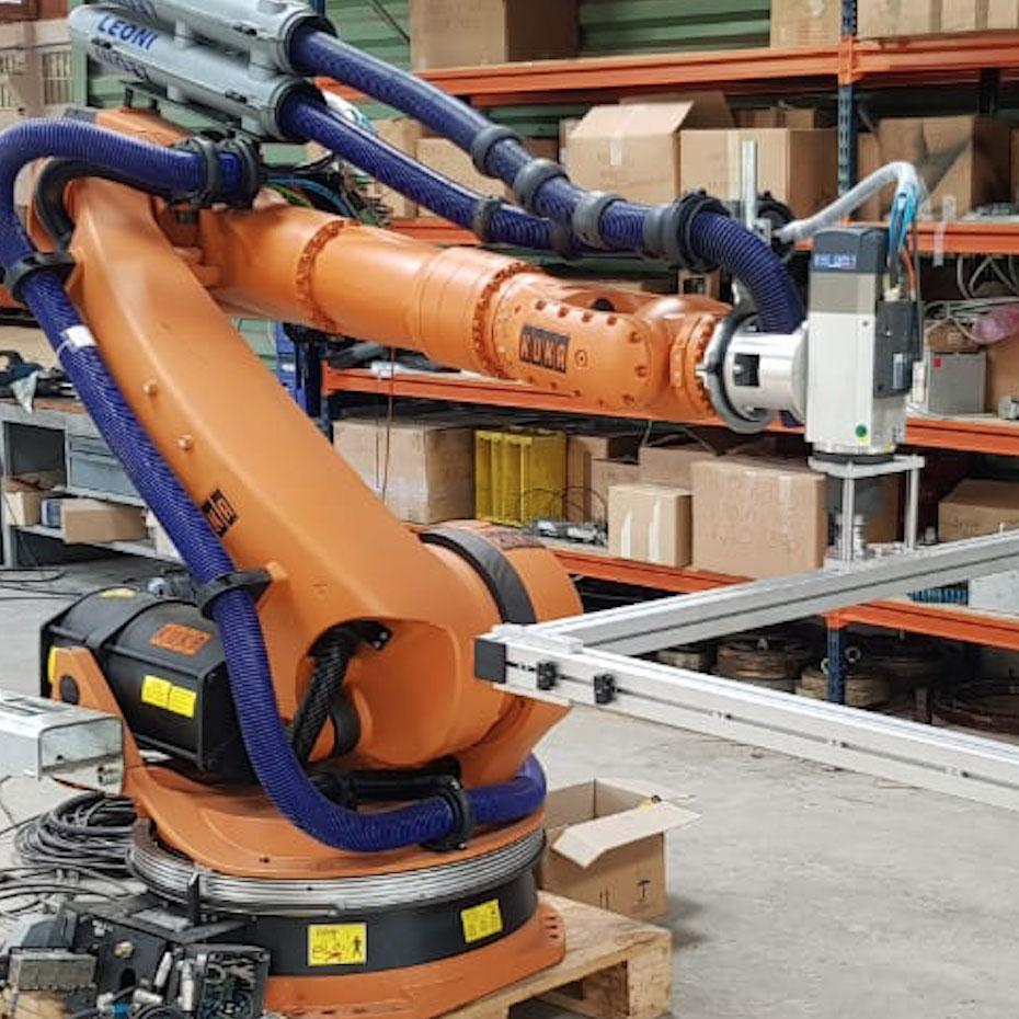 Milling robot system | Eurobots