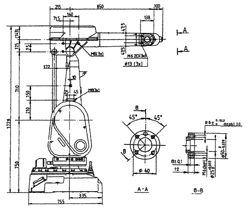 abb irb 2000 used robot