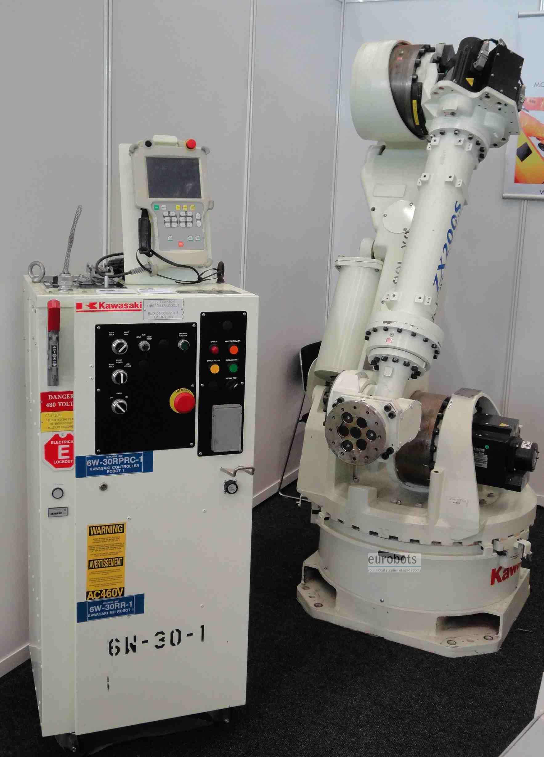 Used Robot Zx200s Kawasaki With C Controller