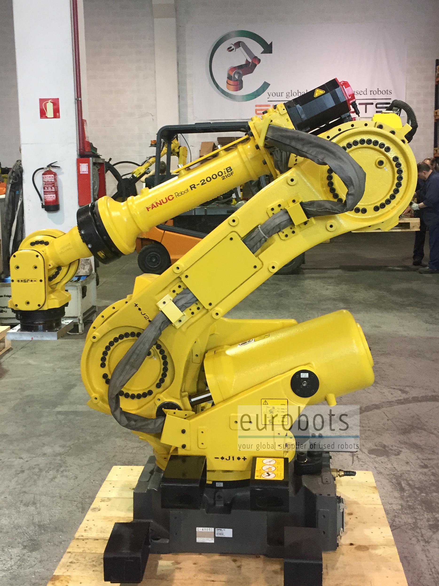 fanuc used r2000ib 210f eurobots kawasaki robot service manual robot kawasaki manual español