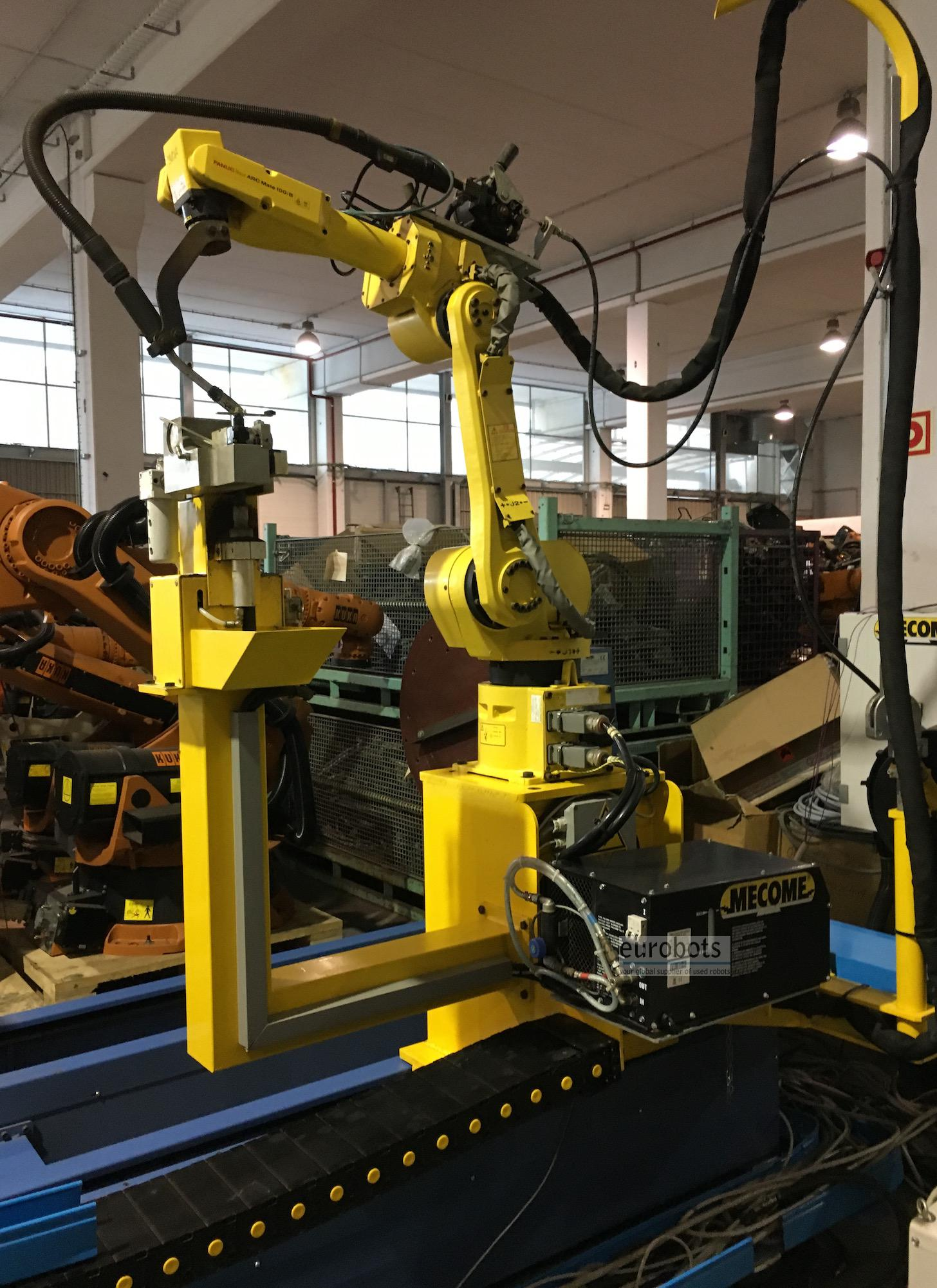 Fanuc_Arcmate_100iB_robot_welding_system_9 Axis