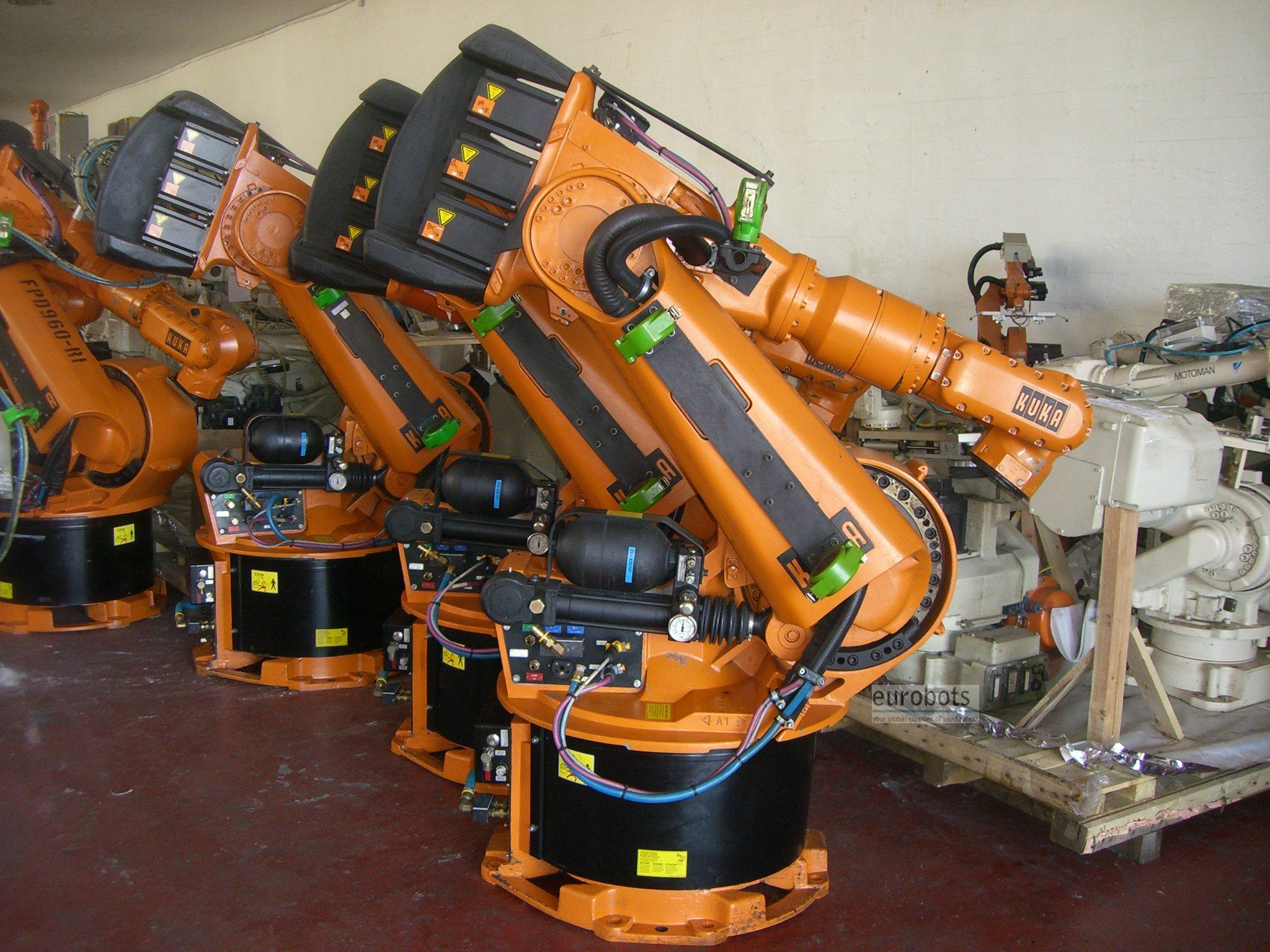 Kuka Kr150 125 200 Used Robot With Krc2 Eurobots