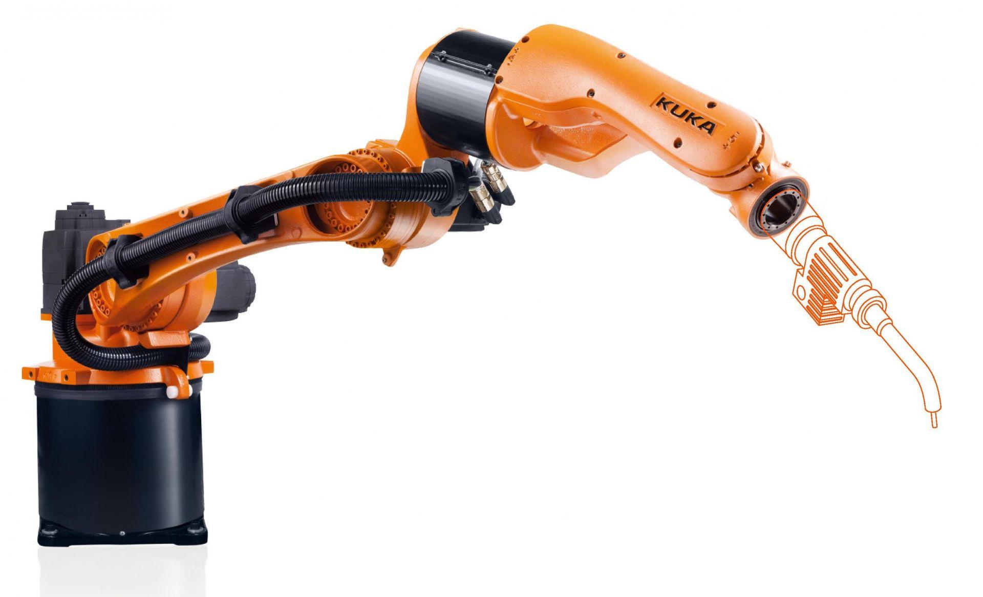 kuka kr cybertech arc nano used robot | Eurobots