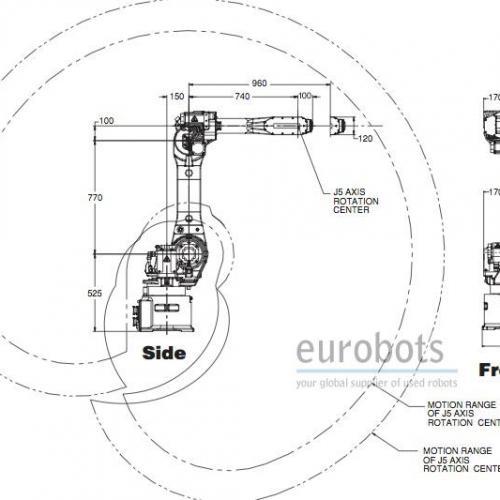 Fanuc M-16iB/20 with R-30iA controller | Eurobots